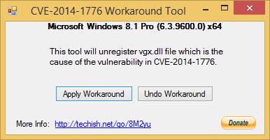 CVE-2014-1776 Workaround Tool